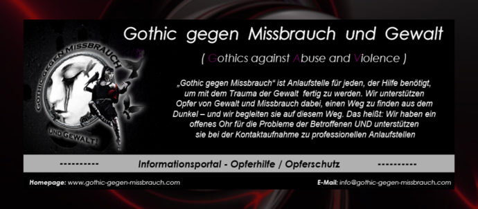 Gothic Gegen Missbrauch Und Gewalt